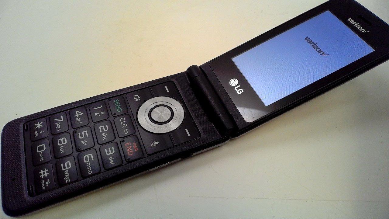 LG - Exalt 4G LTE VN220 with 8GB Memory Cell Phone - Silver (Verizon) (Renewed)