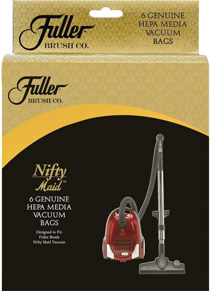 Fuller Brush Nifty Maid Vacuum Bags, 6 Pack