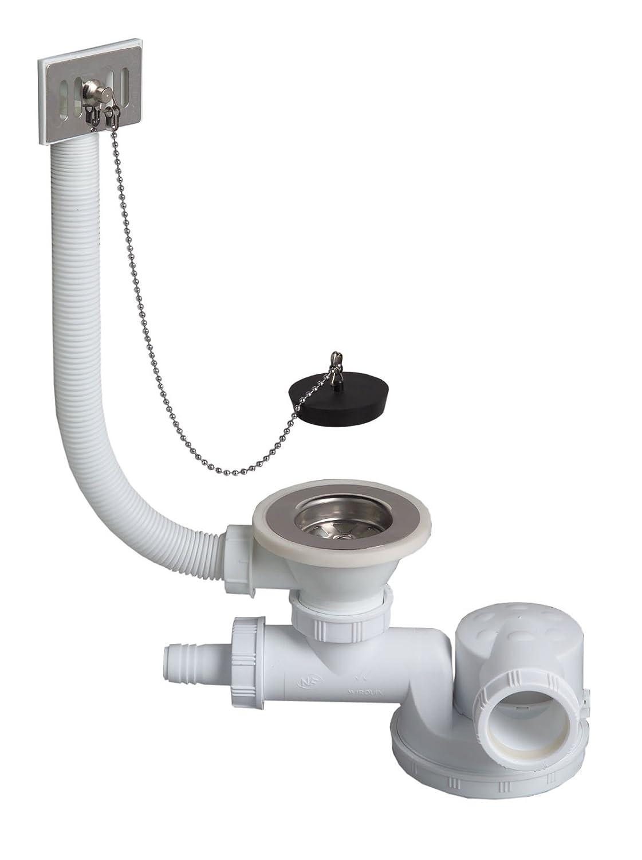 Wirquin TM180099 - Sifón de residuos, conexión de lavadora se ...