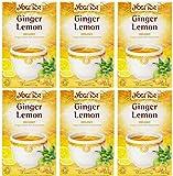 (6er BUNDLE)| Yogi Tea - Ginger Lemon -17bag