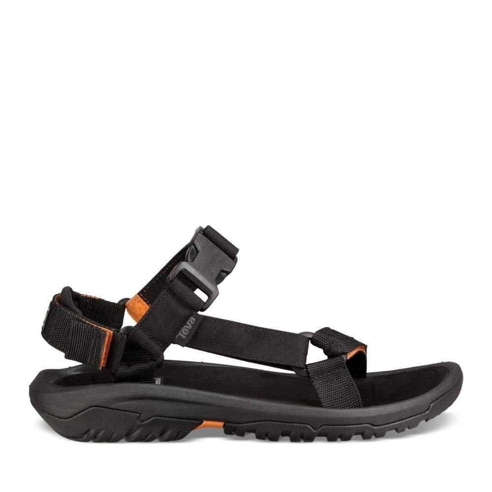 Teva - Sandalias de Vestir de Lona para Hombre Negro Negro 44.5 EU