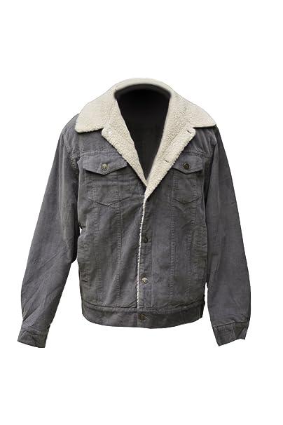 Amazon.com: chamarra de pana para hombre forro Sherpa: Clothing