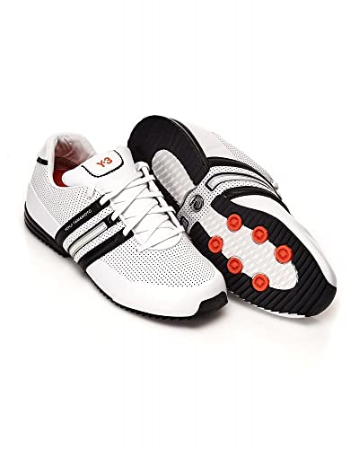 97a9476f0c039f Y-3 Trainers White Sprint Classic 2 Leather Trainer  Amazon.co.uk  Shoes    Bags