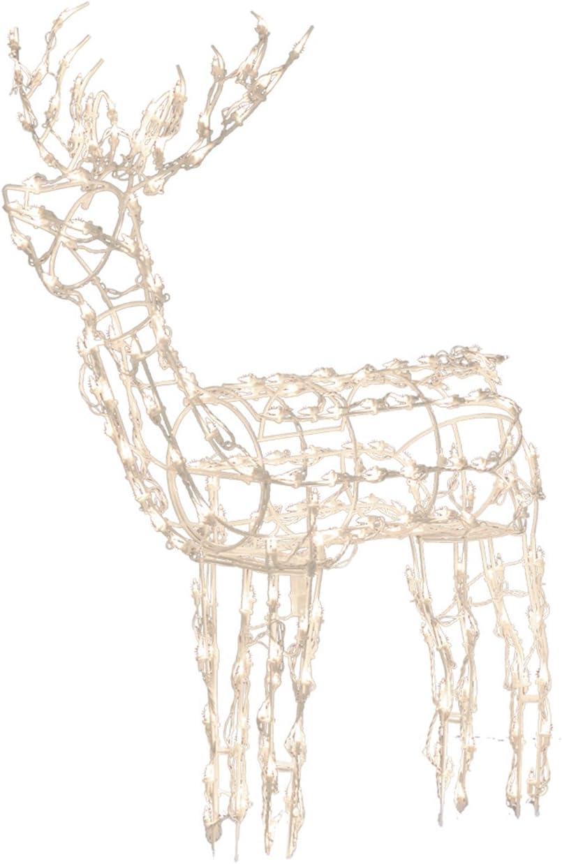 Brite Star LED Standing Buck Figurine, 48-Inch