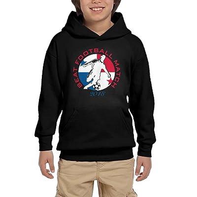 Best Football Match 2018 Panama Youth Unisex Hoodies Print Pullover Sweatshirts