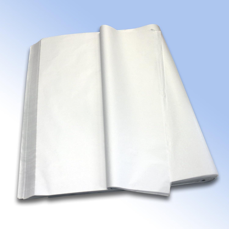 de haute qualit/é Blanc pur MG de papier de soie sans acide 480/feuilles 500/mm x 750/mm 50,8/x 76,2/cm 18/g//m/² 1/Rame