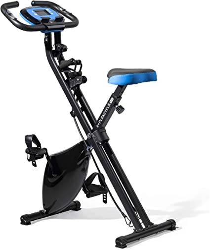Foldable Aerobic Exercise Bicycle X-Bike Fitness Exercise Machine Home Gym Bike