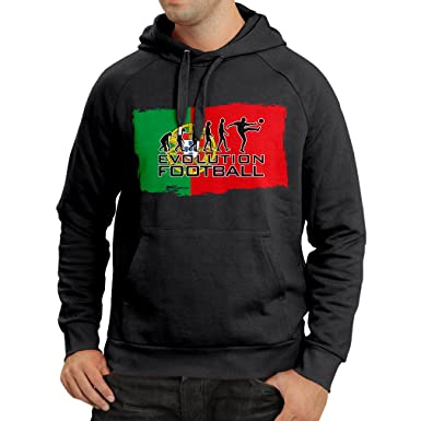 f3a305685d9 Hoodie The Portugal National Football Team Evolution, 2018 World Cup  Russia: Amazon.co.uk: Clothing
