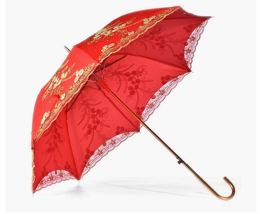 SMBYLL Paraguas de Novia Paraguas Paraguas Paraguas Rojos Boda de ...