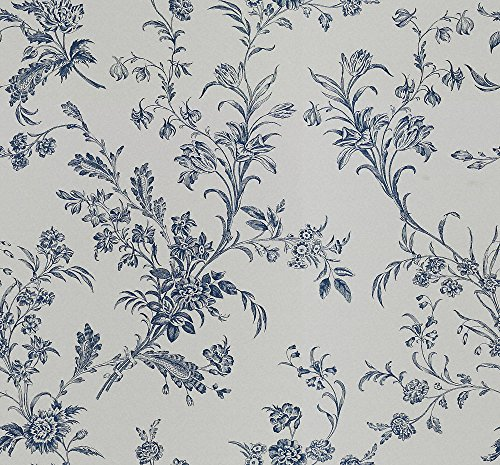 Floral Toile Wallpaper - 5