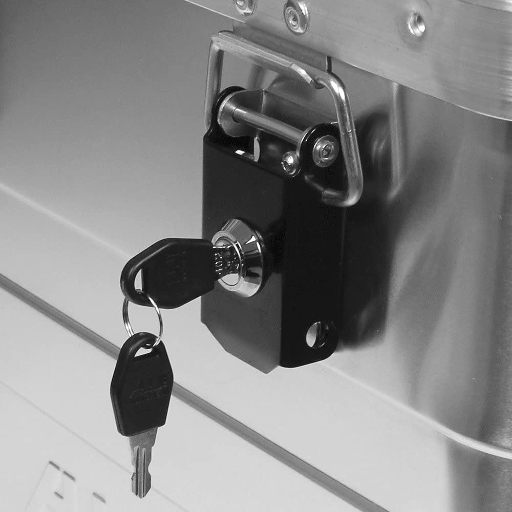 2er Set Sicherheitsschl/össer f/ür Aluminiumboxen Allit AluPlus 420012