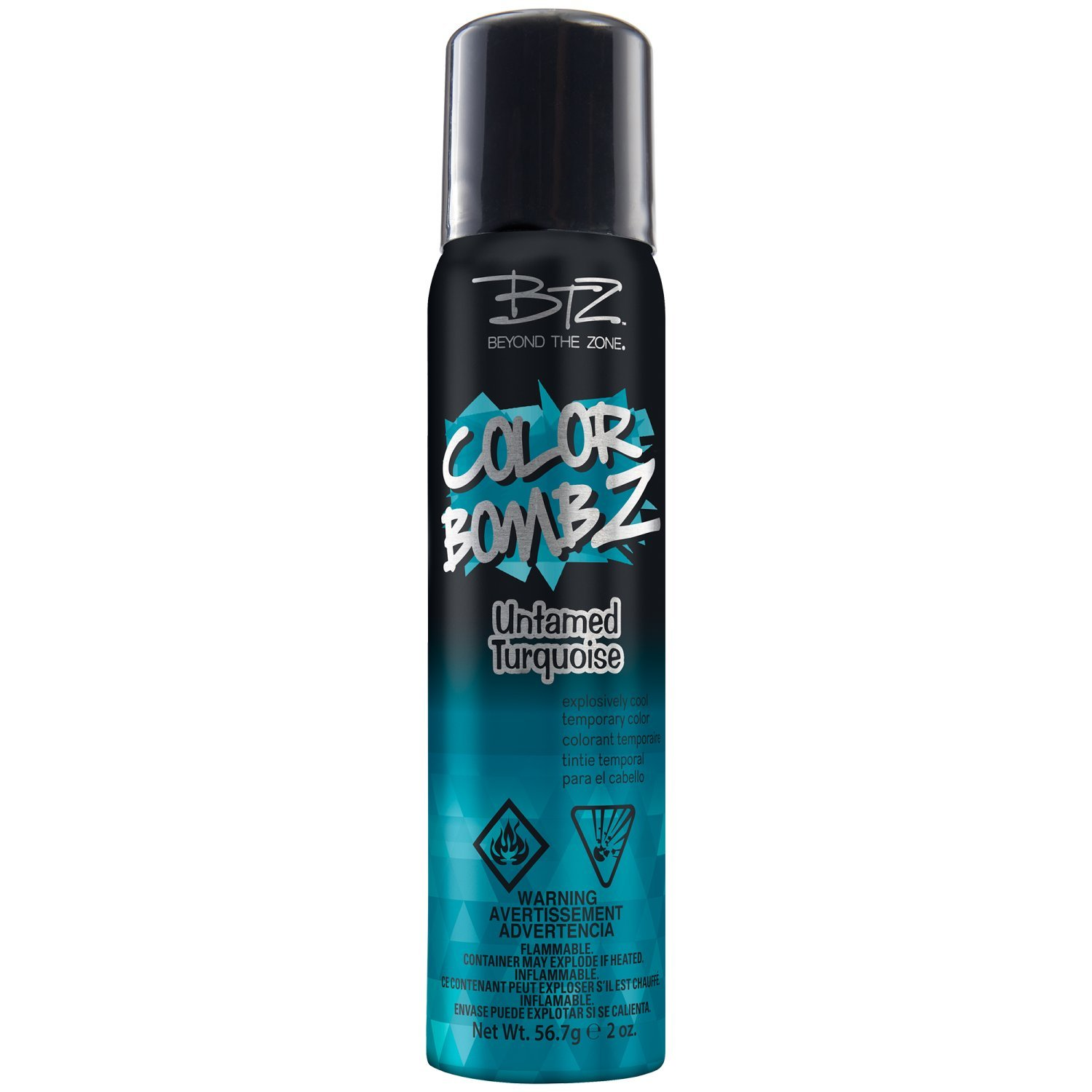 Amazon Untamed Turquoise Temporary Hair Color Spray Beauty