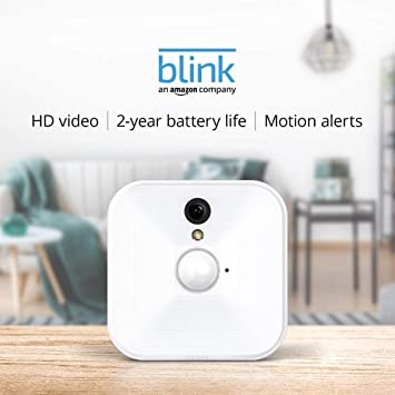 8d52fc955c0f6 Amazon.com  Blink Indoor Home Security Camera System with Motion ...