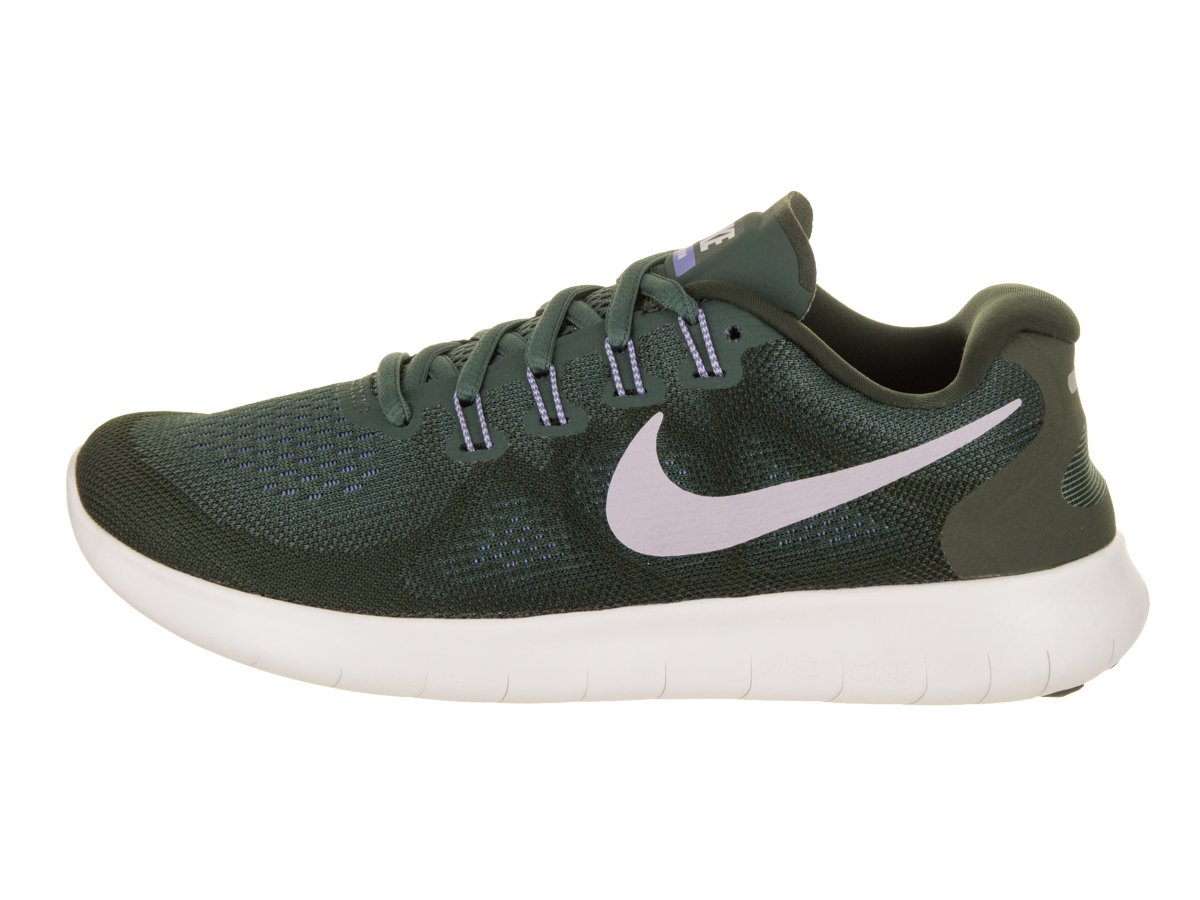 NIKE Women's Free RN 2017 Running Shoe B06VW9N9M9 11 B(M) US|Vintage Green/Provence Purple-sequoia