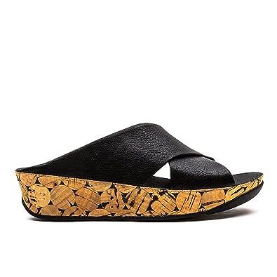 d960ea4c644 Fitflop Women s Cha Cha Sandals Black Size  5  Amazon.co.uk  Shoes ...