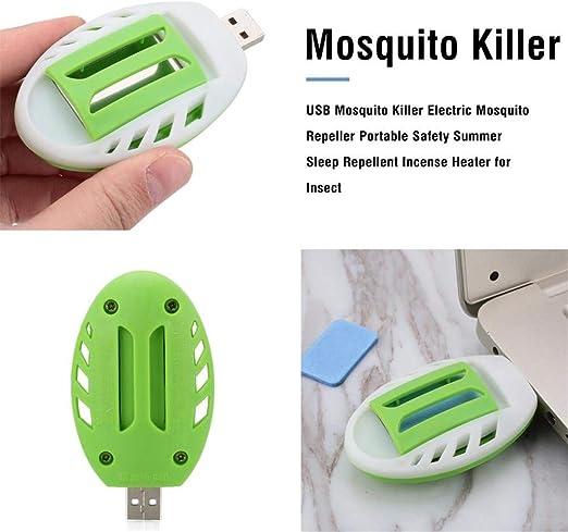 Noennull Usb Mosquito Repeller Elektrischer Moskito Killer Tragbare Moskito Falle Elektro Mückenstecker Küche Haushalt