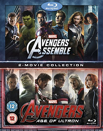 with The Avengers DVD's design