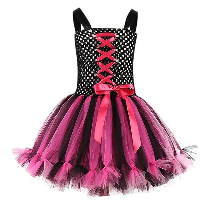 Disfraces Halloween Niña 2-7años, Disfraz Tutu Disfraz Princesa ...