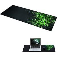 LAAT Grand Tapis de Souris Tapis de Souris Gaming Tapis Clavier Tapis de Bureau Compatible Fit Souris Laser Optique PC Gamers
