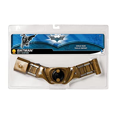 Batman: The Dark Knight Rises: Batman Utility Belt, Child Size (Gold): Toys & Games