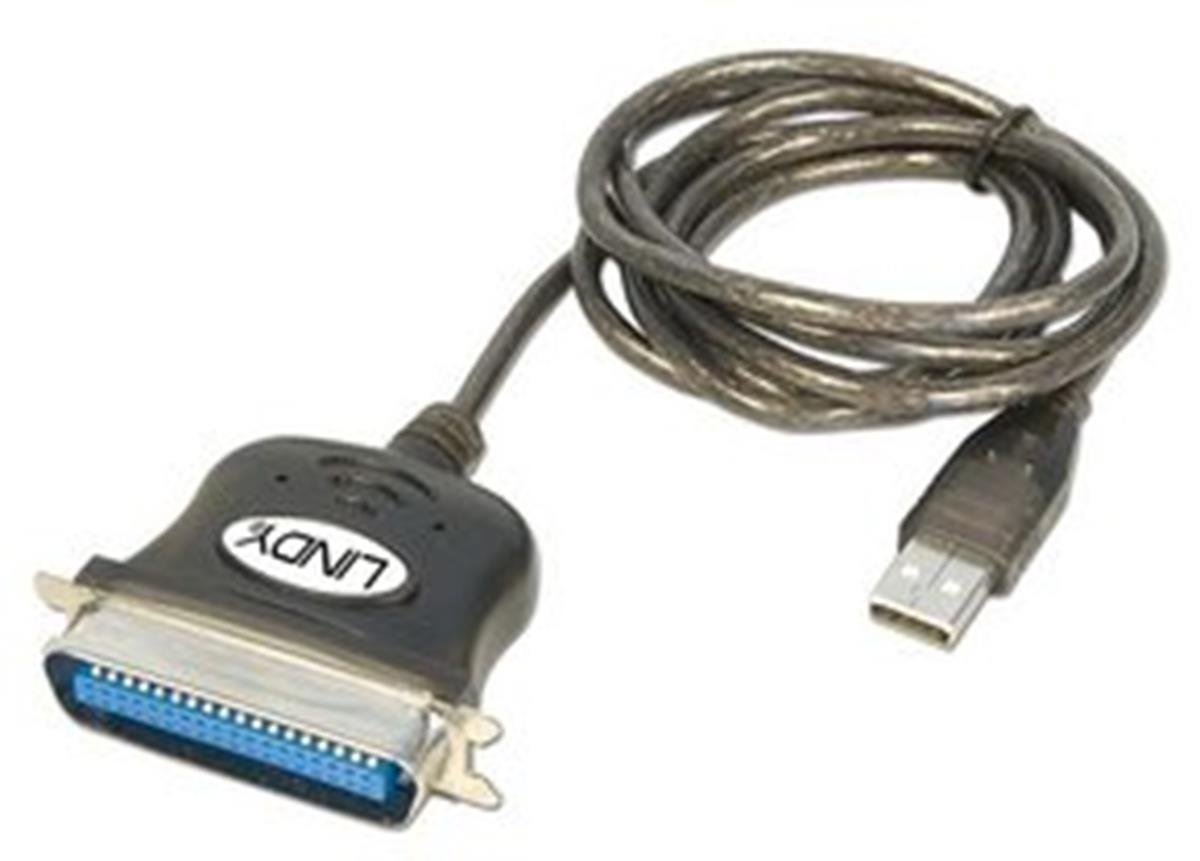 LINDY 1.5 Meter USB to Parallel Adapter 36 Way Centronics (42864)