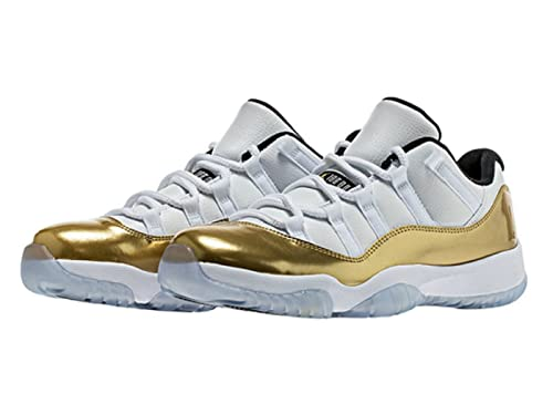 sale retailer c8dce 035cd Foot Locker House of Hoops Air Jordan 11 Low Closing Ceremony Gold Medal  (2016 Release