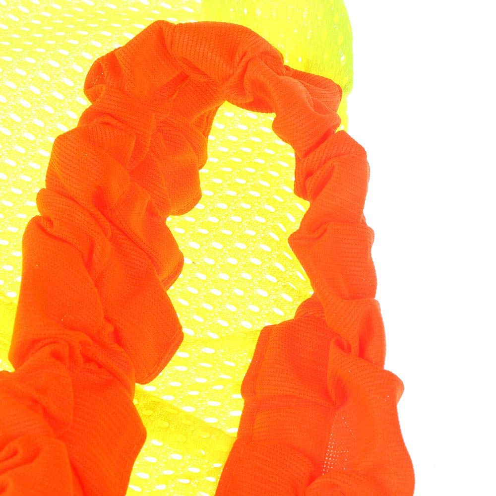 Hard Hat Not Included Orange Summer Sun Shade High Visibility Helmets Reflective Mesh for Construction /& Landscaping GOOTRADES 5 Pieces Hard Hat Neck Shade