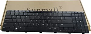 SUNMALL New Laptop Keyboard Compatible with Dell Inspiron 15R 5010 M5010 M501R N5010 09GT99 NSK-DRASW 96DJT 096DJT NSK-DRASW Series Black US Layout