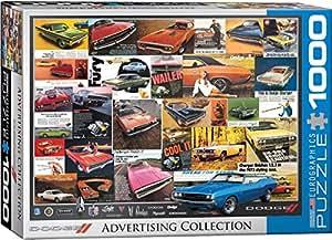 Amazon Com Eurographics Vintage Car Ads Dodge Puzzle 1000 Piece