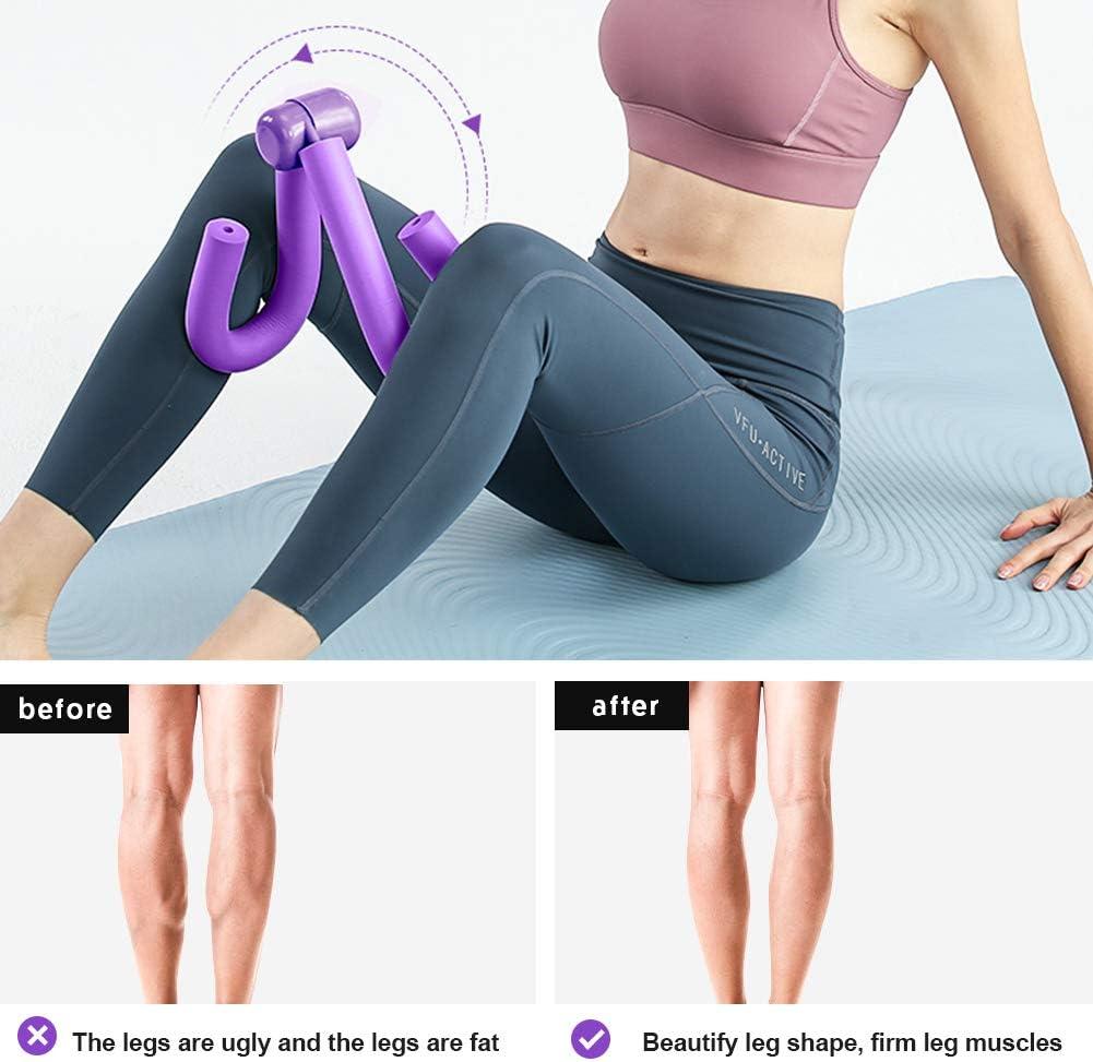 Rommisie Thigh Master Multifunctional Leg Muscle Fitness Equipment Butt//Leg//Arm//Chest Toner Bodybuilding Thigh Trimmer Exerciser Home Gym Yoga Sport Slimming Training