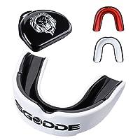 SGODDE Predator Paradenti, Sportivo Custodia Protettiva per Materiale EVA Adatta per Boxe, Taekwondo, Lotta e Basket ecc.