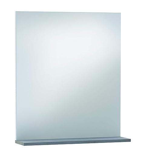 Specchio Bagno 60 X 60.13casa Nettuno A4 Specchi Bagno Nobilitato Grigio 69 X 60 X