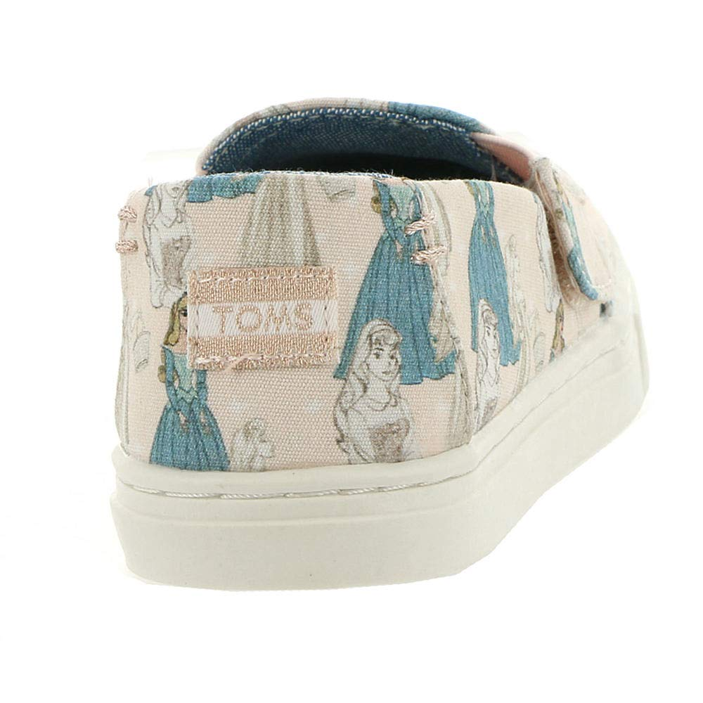 TOMS Kids Baby Girl's Luca Disney¿ Princesses (Infant/Toddler/Little Kid) Pink Sleeping Beauty Printed Canvas 5 M US Toddler M by TOMS (Image #6)