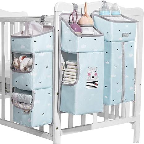 Gnayiz Aufbewahrungstasche,Babybett hängen Aufbewahrungstasche Spielzeug Wi #SF