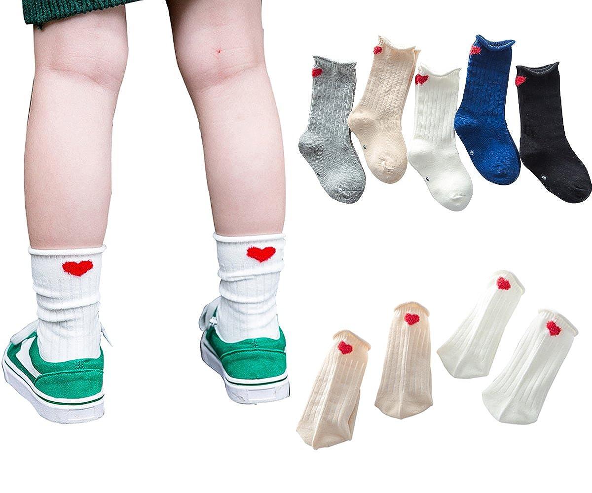 PenGreat SOCKSHOSIERY ベビーガールズ Small/3-5 Years Love Socks/5 Pairs B075C15F4Z