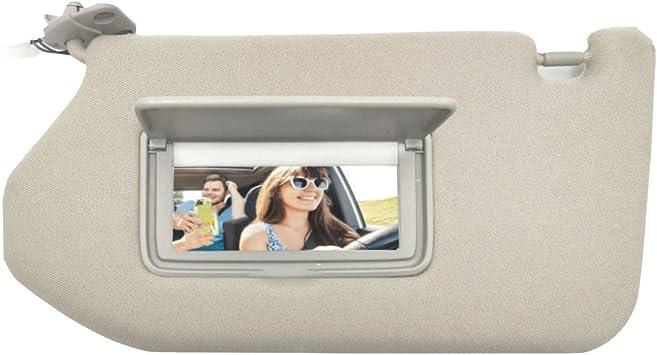 2013 Infiniti JX35 with sunroof and Light LECBERT Left Driver Side Sun Visor for Nissan Pathfinder 2013 2014 2015 2016 2017 2018 Tan Beige Infiniti QX60 2014-2017