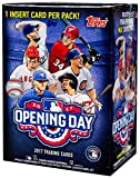 #9: 2017 Topps Opening Day Baseball Series Unopened Blaster Box with 11 Packs of 7 Cards Possible Autographs and Game Used Relics Cards