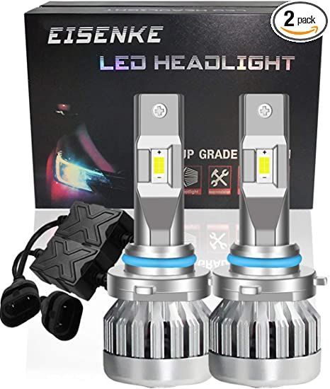 EISENKE high power 9005//9006 hb3 hb4 led headlight bulbs super bright automotive Lighting Conversion Kits high beam low beam 24000LM 6000K 130W Xenon white