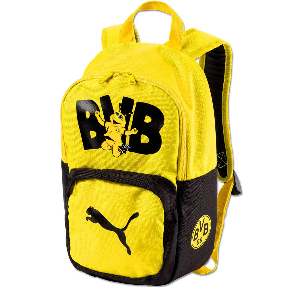 Puma BVB Niños Kids Backpack Mochila, PUMA Black de Cyber Yellow, UA: Amazon.es: Deportes y aire libre