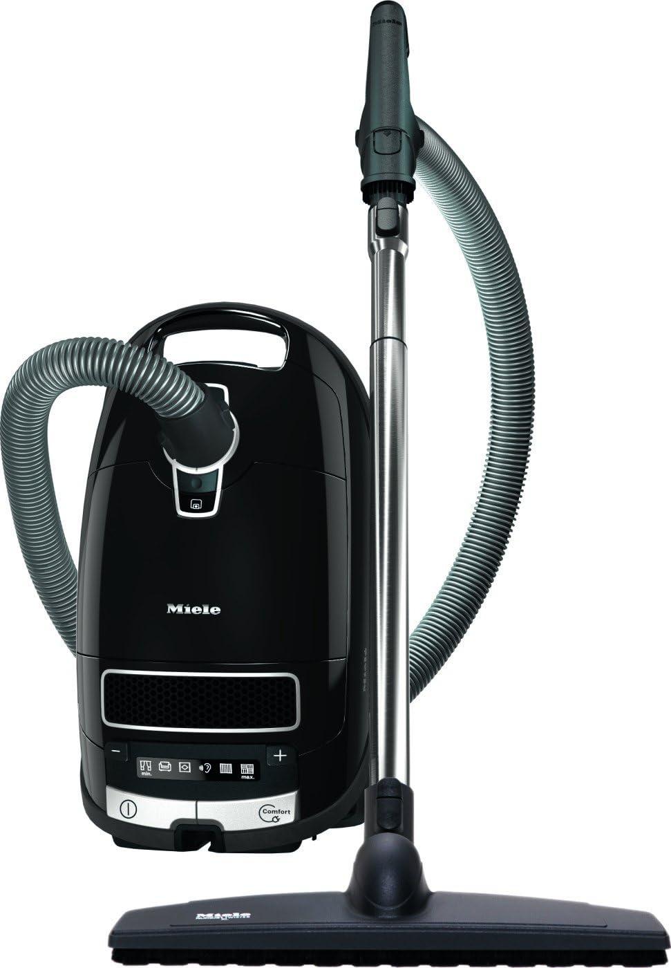 Miele Complete C3 Celebration Parquet EcoLine Plus - Aspiradora (800W, A, 25,6 kWh, Cilindro, Bolsa para el polvo, Acero inoxidable) Negro: Amazon.es: Hogar