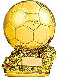 Trofeo Replica Balón de Oro 29cm Resina GRABADO Trofesport Trofeos ...