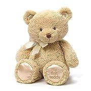 Baby GUND My 1st Teddy Bear Stuffed Animal Plush, Tan 15