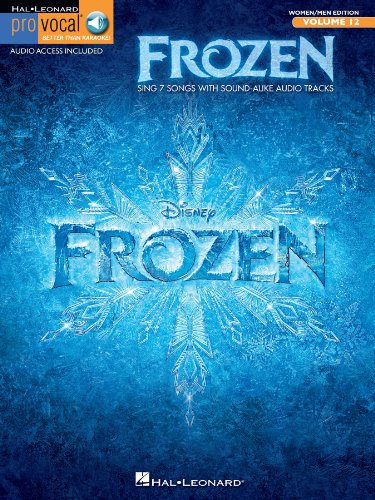 Frozen - Pro Vocal Songbook (with Audio): Mixed Edition Volume 12