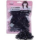 Youxuan Kids Elastics No Damage Colored Hair Bands Fashion Girls Hair Ties
