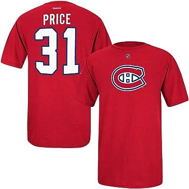 Carey Price Reebok Montreal Canadiens Premier Jersey Rojo N&N ...