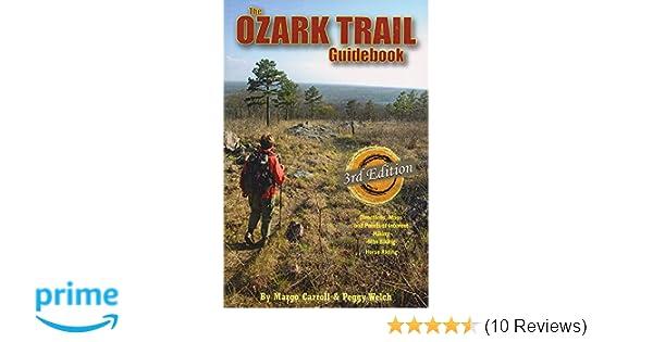 aff0ddc699 The Ozark Trail Guidebook (3rd edition)  Margo Carroll