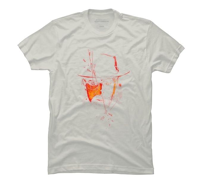 0a7664e4349c Amazon.com  Mr. White Men s Large Silver Graphic T Shirt - Design By ...