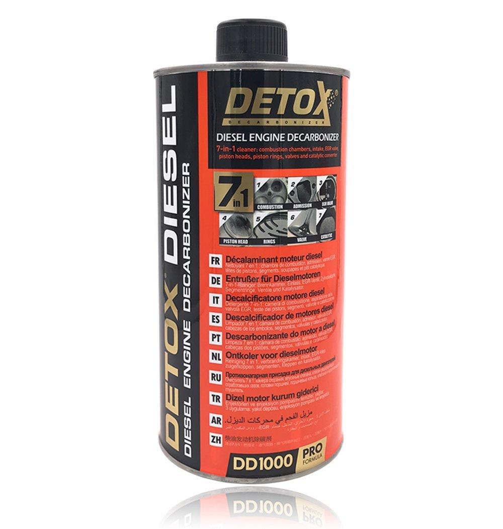 Dé calaminant moteur Detox Diesel Warm UP DD1000 1L
