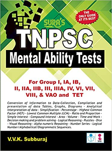 Amazon in: Buy TNPSC MENTAL ABILITY Book Online at Low