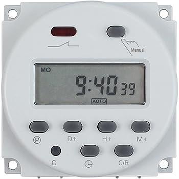 Jvr 12v Timer Switch Programmable Digital 12 Volt Dc Ac